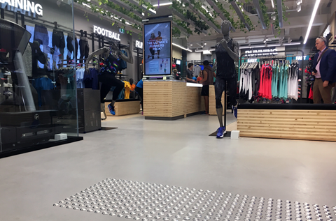 Flagship ASICS Brisbane Store Installs Fast Curing and Decorative Floor