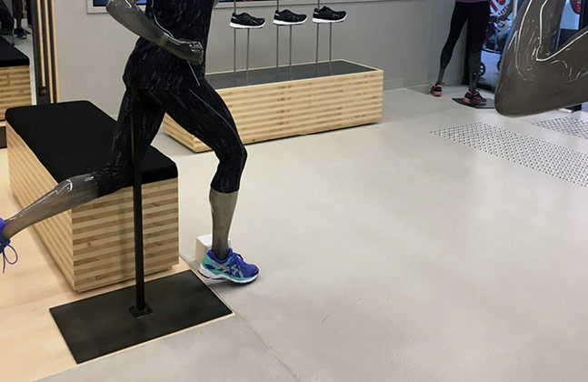 Mondéco Rapide at the ASICS Brisbane Concept Store