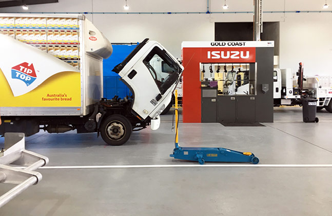 Under the Hood with Flowcrete Resin Flooring