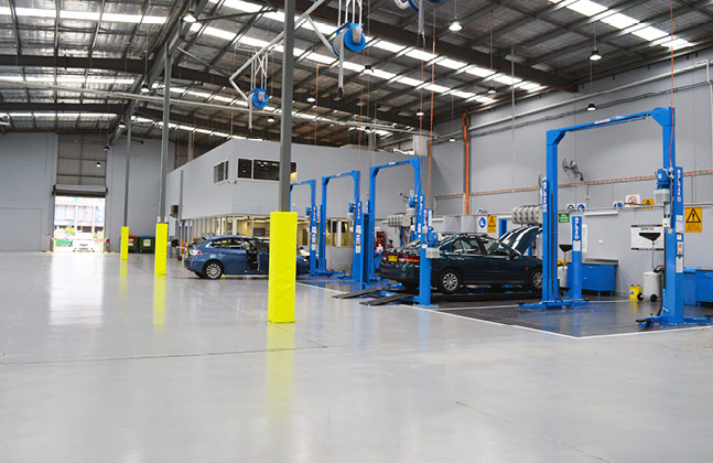 Flooring for the Automotive Sector