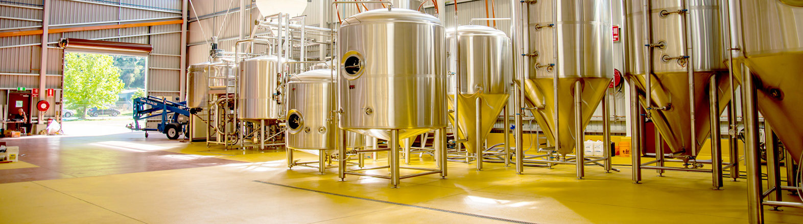 Flooring Design for Brewery Production Areas