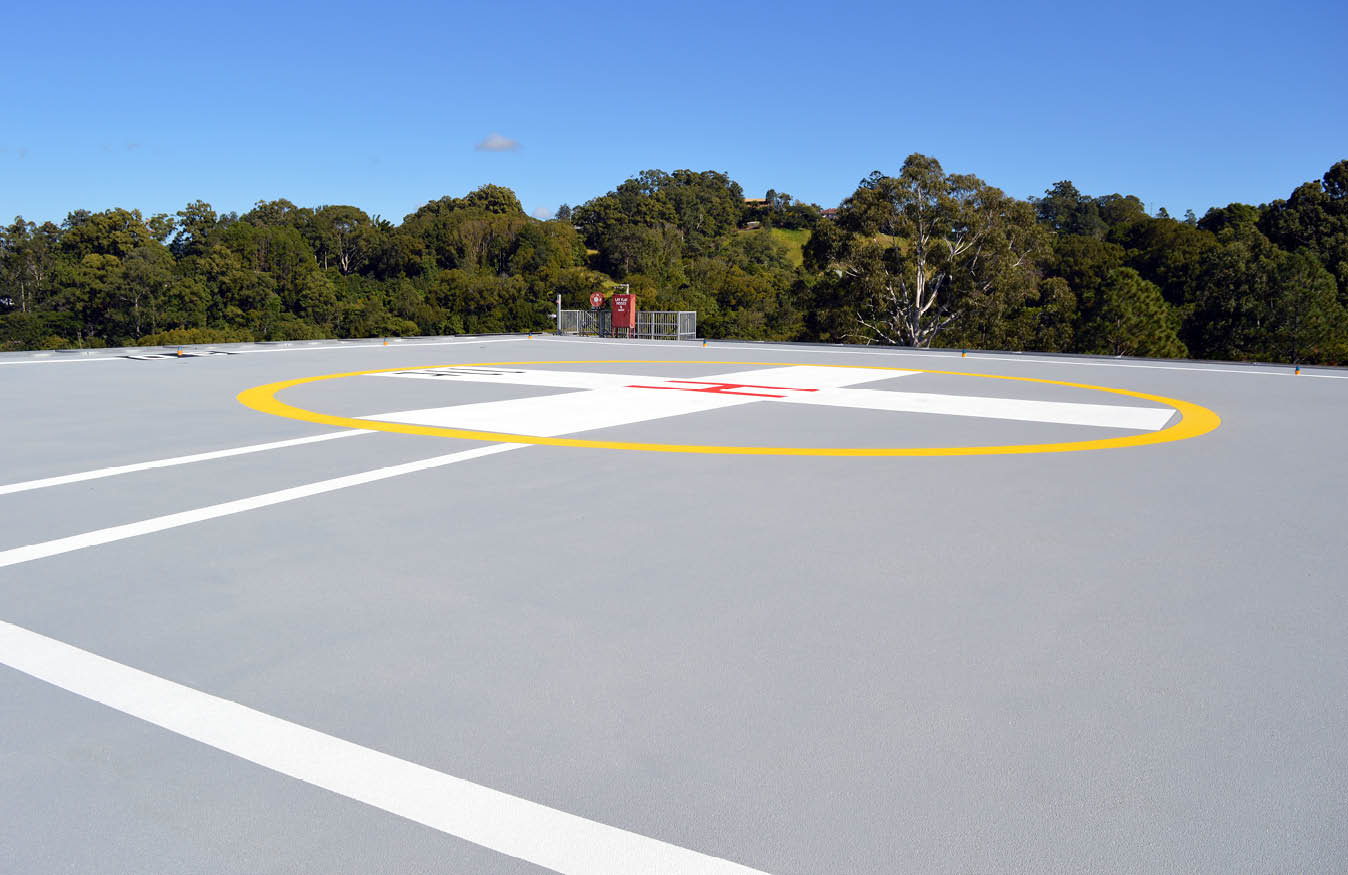 Nambour General Hospital Helipad