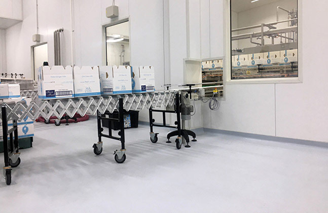 Flowcrete Australia's Flowfresh SR was utilised throughout the award-winning Bannister Downs Dairy facility
