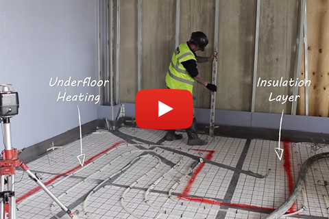 Isocrete Alpha Screed Installation