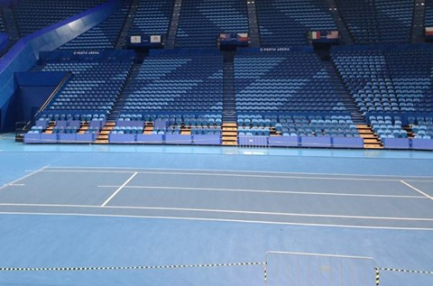 Flowcrete Finds Winning Formula at Perth Arena