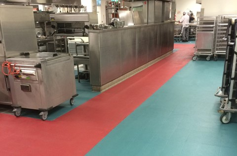Flowfast Cure for Private Hospital Kitchen Floor