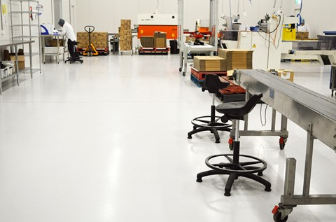 Flowcrete Floors Perfect For New Packaging Plant