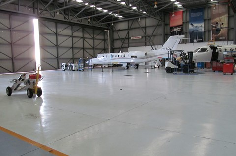 High Strength Coating Chosen for ExecuJet Hangar