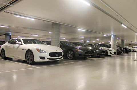 Flowcrete in the Fast Lane at Maserati Workshop