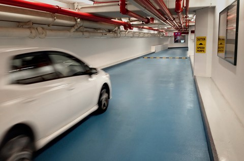 Rapid Flooring Refurbishment at Central Park Car Park