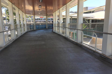 Step Up In Style on NSW's New Skywalk Footbridge